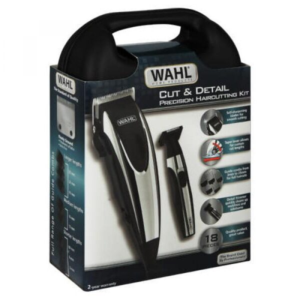 COMBO MAQUINA PELUQUERIA WAAHL CUT AND DETAIL